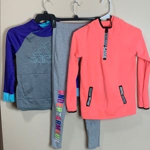 4 piece athletic clothing Bundle PLAY Condition